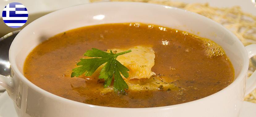 Kakawiá, sopa de pescado griega