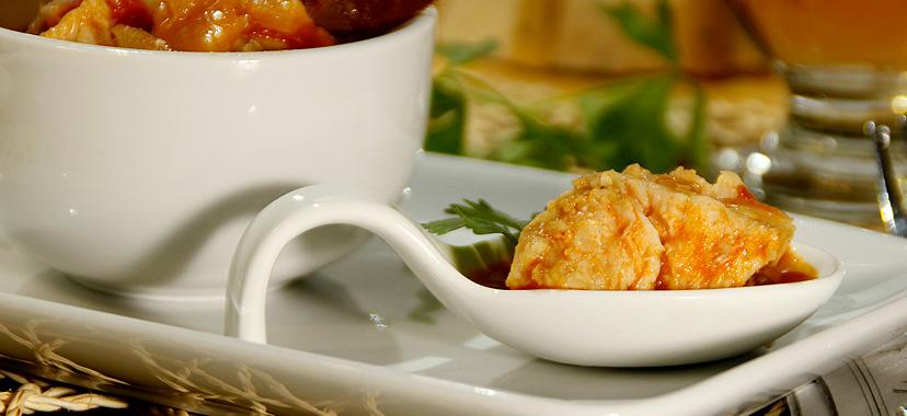 Suquet de pez espada (aguja empalada)