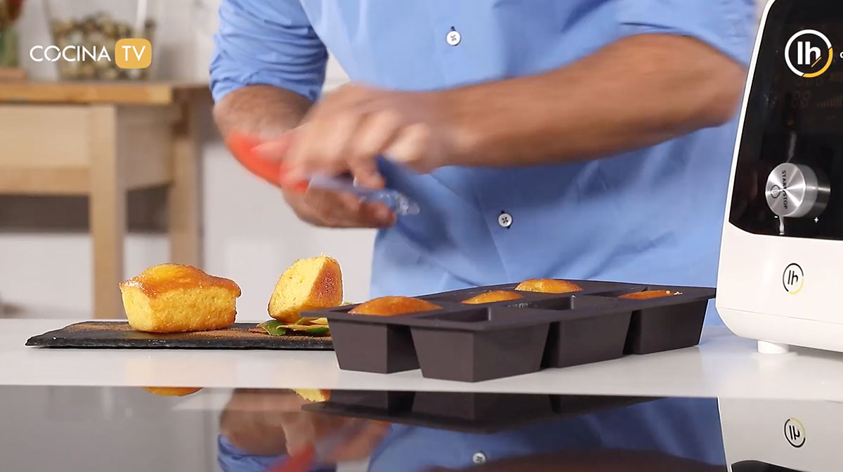 Lingotes de Plum Cake a los 3 cítricos