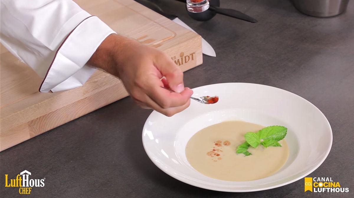 Suave de legumbres a la crema