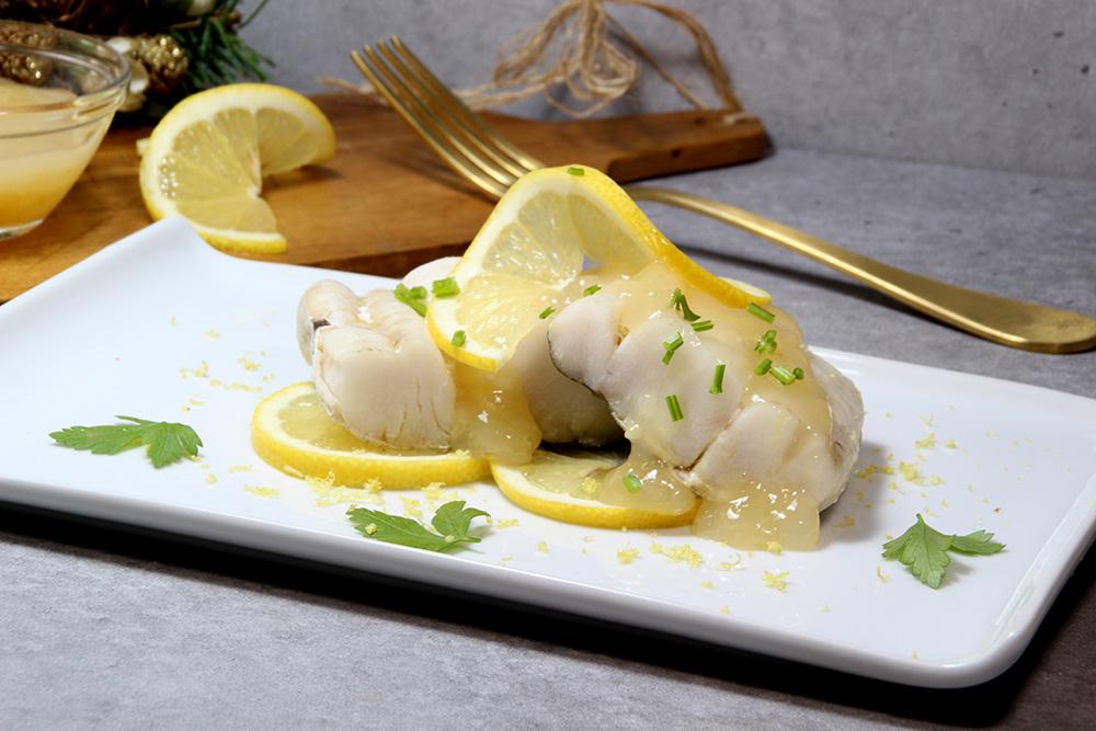 Merluza en salsa de limón